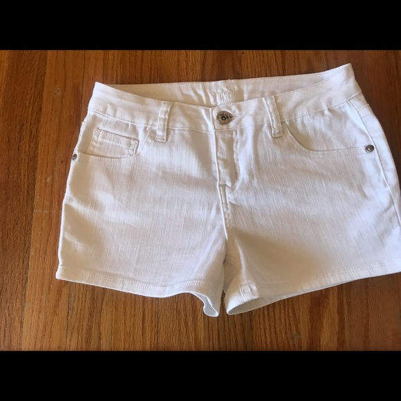 Justice Other - Justice white jean shorts